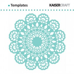 "Kaiser craft template 12x12"" lace doily"