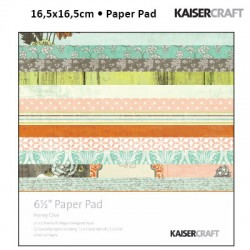 Kaiser craft honey chai paper pad 6,5x6,5""