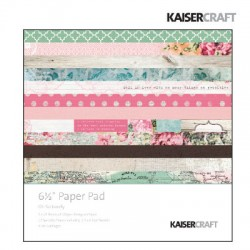Kaiser craft   Oh so lovely paper pad 6,5x6,5""