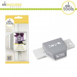 EK tools punch edger heart confetti