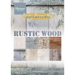 Marianne D Paper pad Rustic Wood