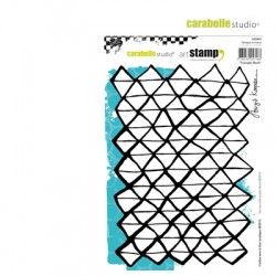 Carabelle stamp 15x20cm triangle mesh