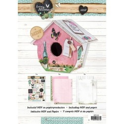 Studio Light MDF Birdhouse Love & Home
