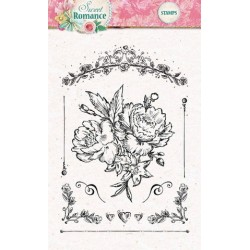 Studio Light Clearstempel A6 Sweet Romance nr 128