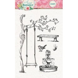 Studio Light Clearstempel A6 Sweet Romance nr 129