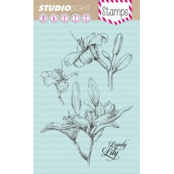Studio Light Clearstempel A6 Lilie nr 134