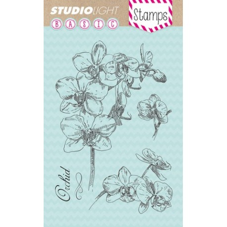 Studio Light Clearstempel A6 Orchidee nr 132