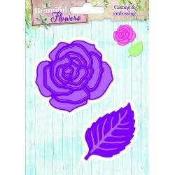 Studio Light Embossing Die Cut Stencil Beautiful Flowers nr 05
