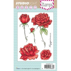 Studio Light Clearstempel A6 Rosen nr 137