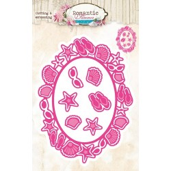Studio Light Embossing Die Cut Stencil Romantic Summer nr 11