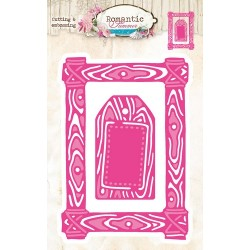 Studio Light Embossing Die Cut Stencil Romantic Summer nr 12