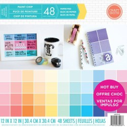 Craft Smith Paint Chip 12x12 Inch Paper Pad