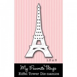 My Favorite Things Die-namics Eiffel Tower
