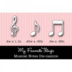 My Favorite Things Die-namics Musical Notes - Musiknoten