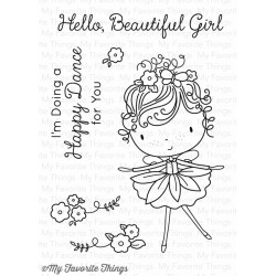 My Favorite Things Beautiful Girl Clear Stamps