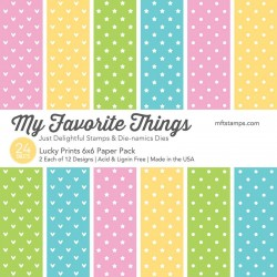 My Favorite Things Lucky Prints 6x6 Inch Paper Pack