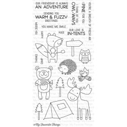 My Favorite Things Warm & Fuzzy Friends Clear Stamps