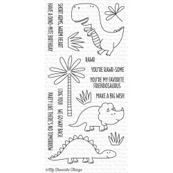 My Favorite Things You're Rawr-some Clear Stamps