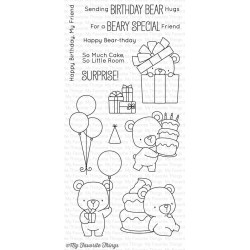 My Favorite Things Beary Special Birthday Clear Stamps