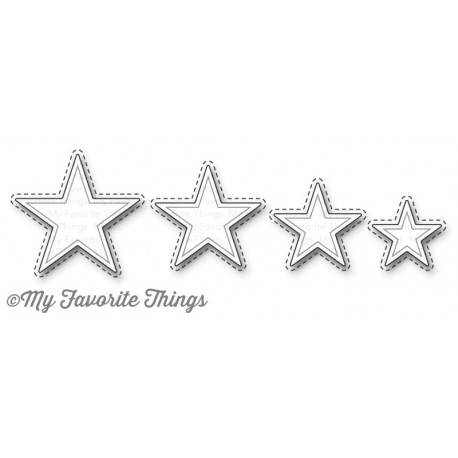 My Favorite Things Die-Namics Inside & Out Stitched Stars