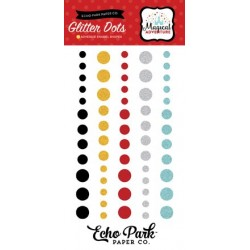 Echo Park Magical Adventure Glitter Enamel Dots