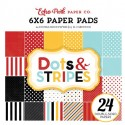 Echo Park Magical Adventure Dots & Stripes 6x6 Inch Paper Pad