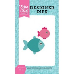Echo Park Fish Set NR2 Designer Dies