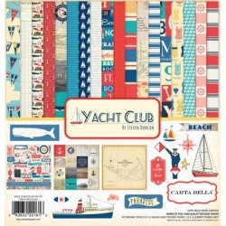 Carta Bella Yacht Club 12x12 Inch Collection Kit