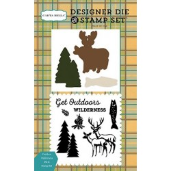 Carta Bella Outdoor Wilderness Designer Dies & Stamp Set