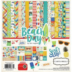 Carta Bella Beach Day 12x12 Inch Collection Kit