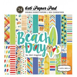 Carta Bella Beach Day 6x6 Inch Paper Pad