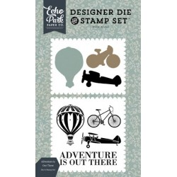 Carta Bella Adventure is Out There Designer Dies & Stamp