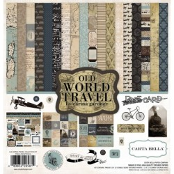 Carta Bella Old World Travel 12x12 Inch Collection Kit