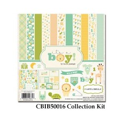 Carta Bella It's a Boy 12x12 Inch Collection Kit
