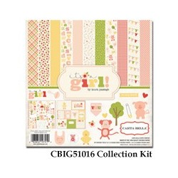 Carta Bella It's a Girl 12x12 Inch Collection Kit