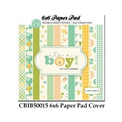 Carta Bella It´s a Boy 6x6 Inch Paper Pad