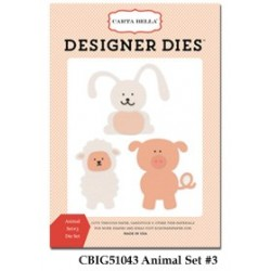 Carta Bella Animal Set Nr3 Designer Dies