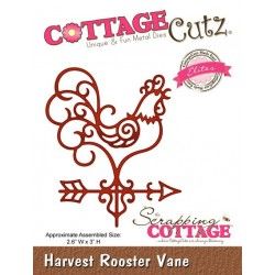 Scrapping Cottage Harvest Rooster Vane