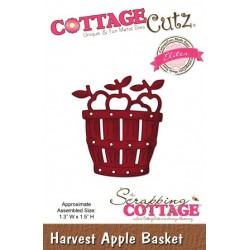 Scrapping Cottage Harvest Apple Basket