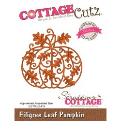 Scrapping Cottage Filigree Leaf Pumpkin