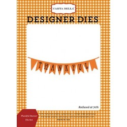 Carta Bella Thankful Banner Die Set