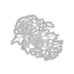 Tonic Studios Die - Rococo bunched roses -Rosen