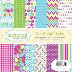 Taylored Expressions For Peep's Sake 6x6 Inch Paper Pack