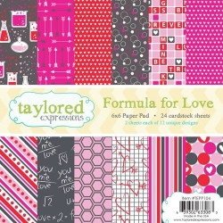Taylored Expressions Formula For Love 6x6 Inch Paper Pack