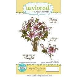 Taylored Expressions Stargazer Lily Bouquet Lilien