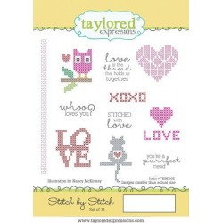 Taylored Expressions Stitch By Stitch gestickt