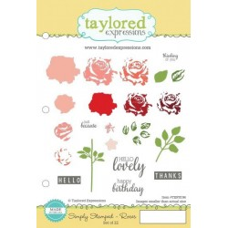 Taylored Expressions Simply Stamped Roses