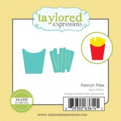 Taylored Expressions Little Bits - French Fries Pommes