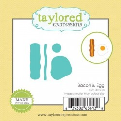 Taylored Expressions Little Bits - Bacon & Egg Speck und Eier