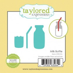 Taylored Expressions Little Bits Milk Bottle Milchflasche